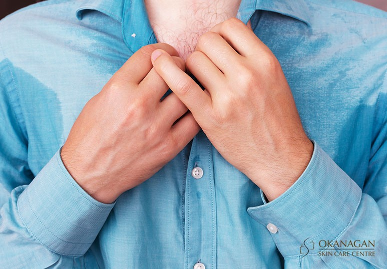 Kelowna Hyperhidrosis Treatment for Men